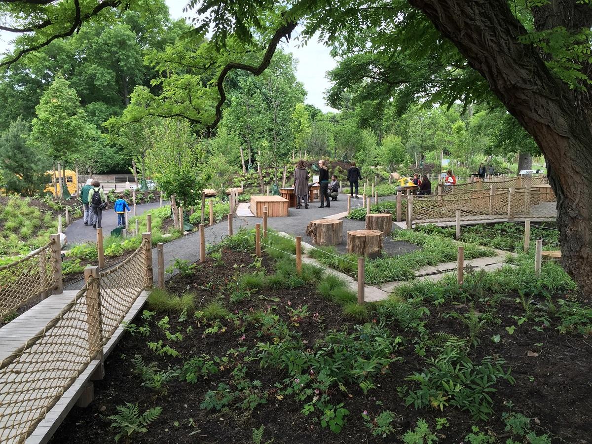 Childrenu0027s Discovery Garde At Brooklyn Botanical Garden