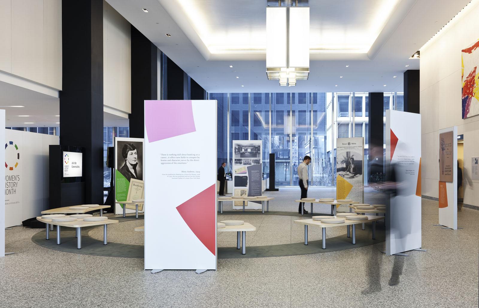 JP Morgan Chase Headquarters Lobby