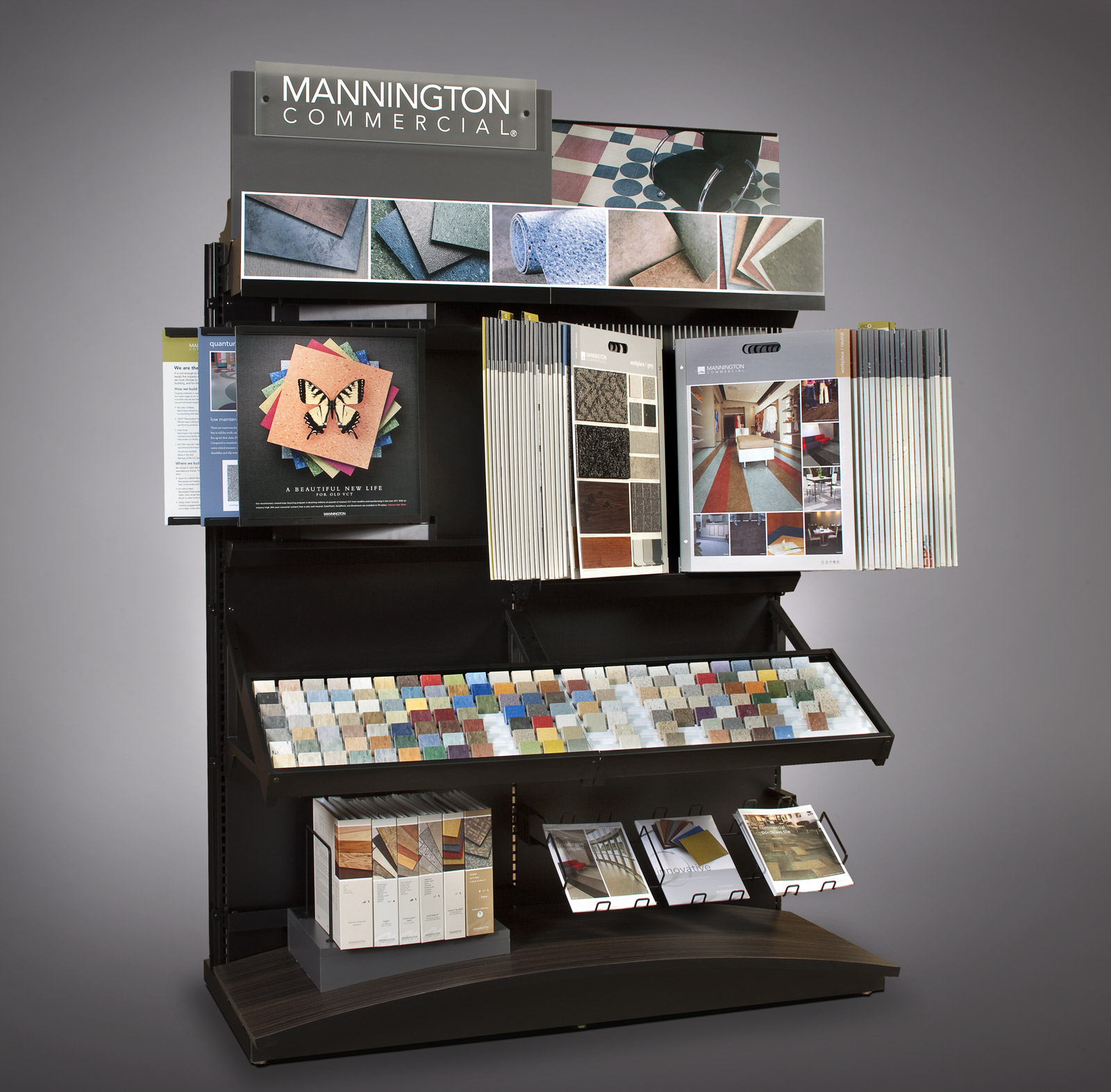 Mannington Mainstreet Commercial Flooring Display