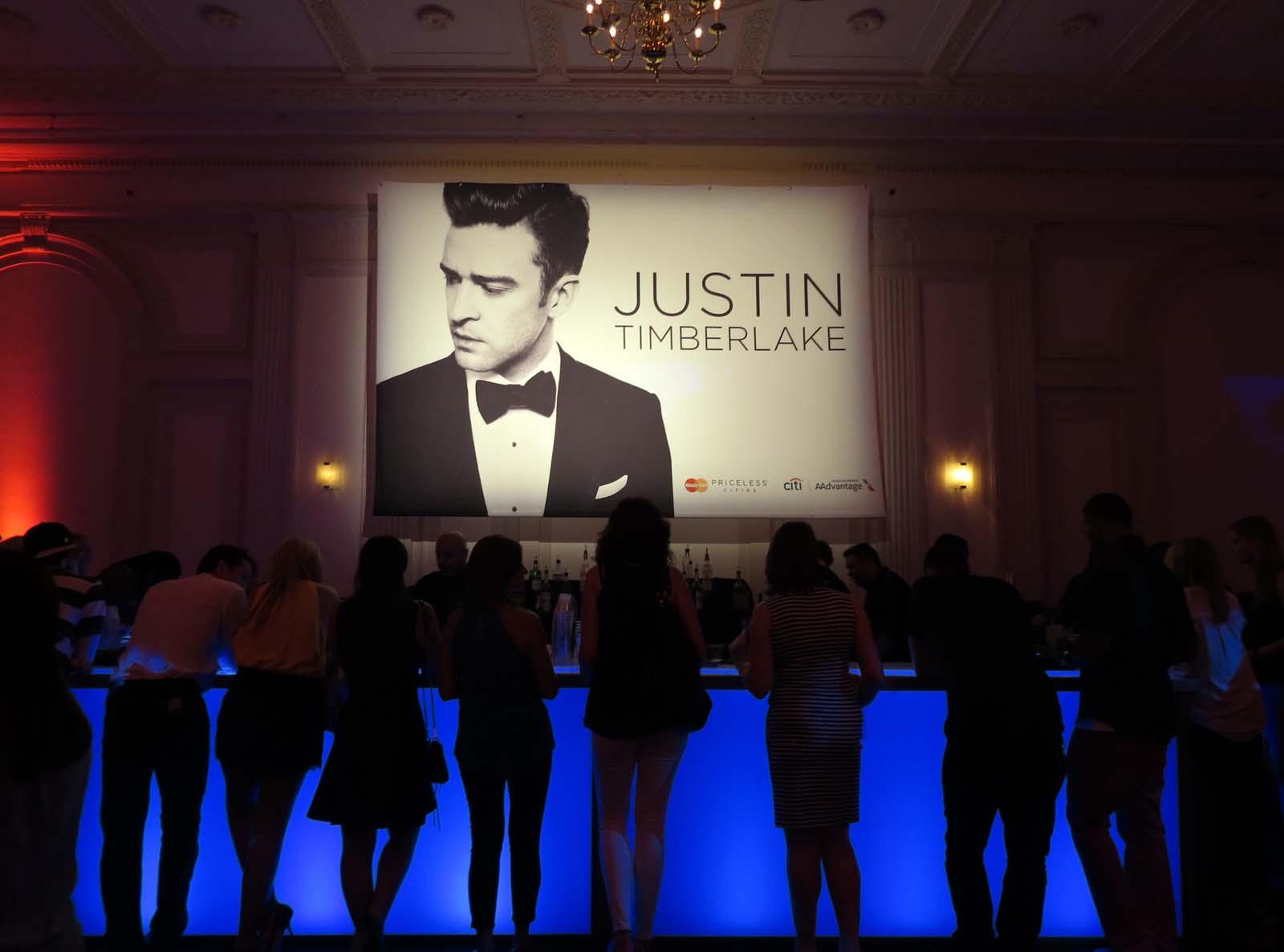 MasterCard Priceless Justin Timberlake Concert - NY