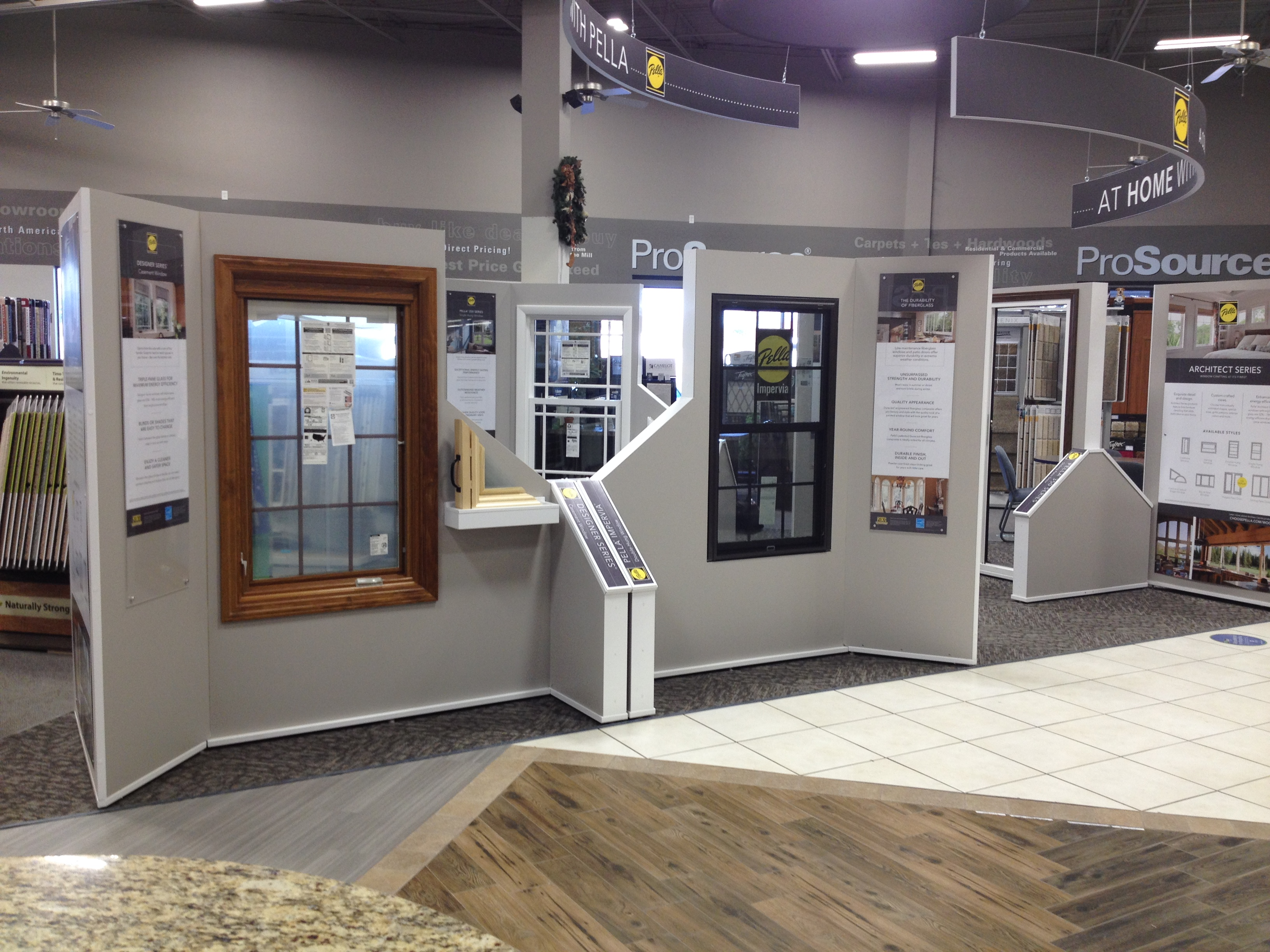 Prosource Stores - Pella Window and Door Showroom & Retail Displays Fixtures Environments