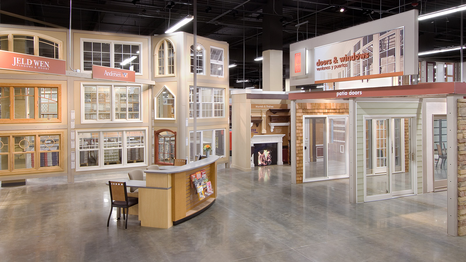 Retail displays fixtures environments - Home depot design center bathroom ...