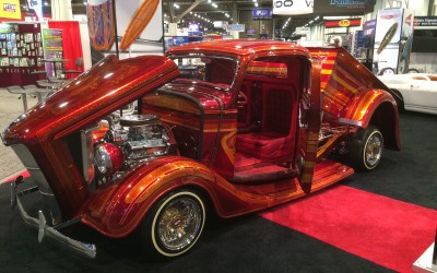 Axalta Coating Systems at SEMA: One Amazing Car Trade Show