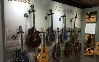 Tradeshow Exhibit Design: Art Guild Helps Hoshino U.S.A. Rock NAMM