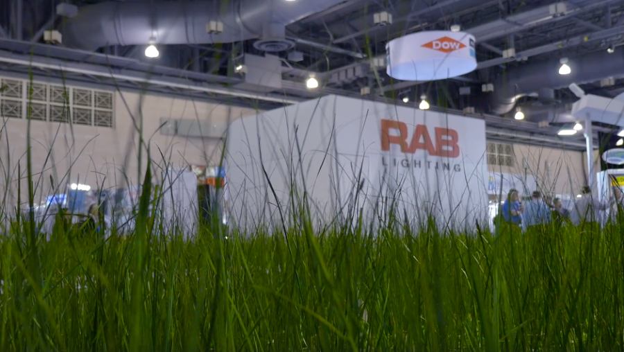 RAB Lighting ioNature Exhibit at Lightfair