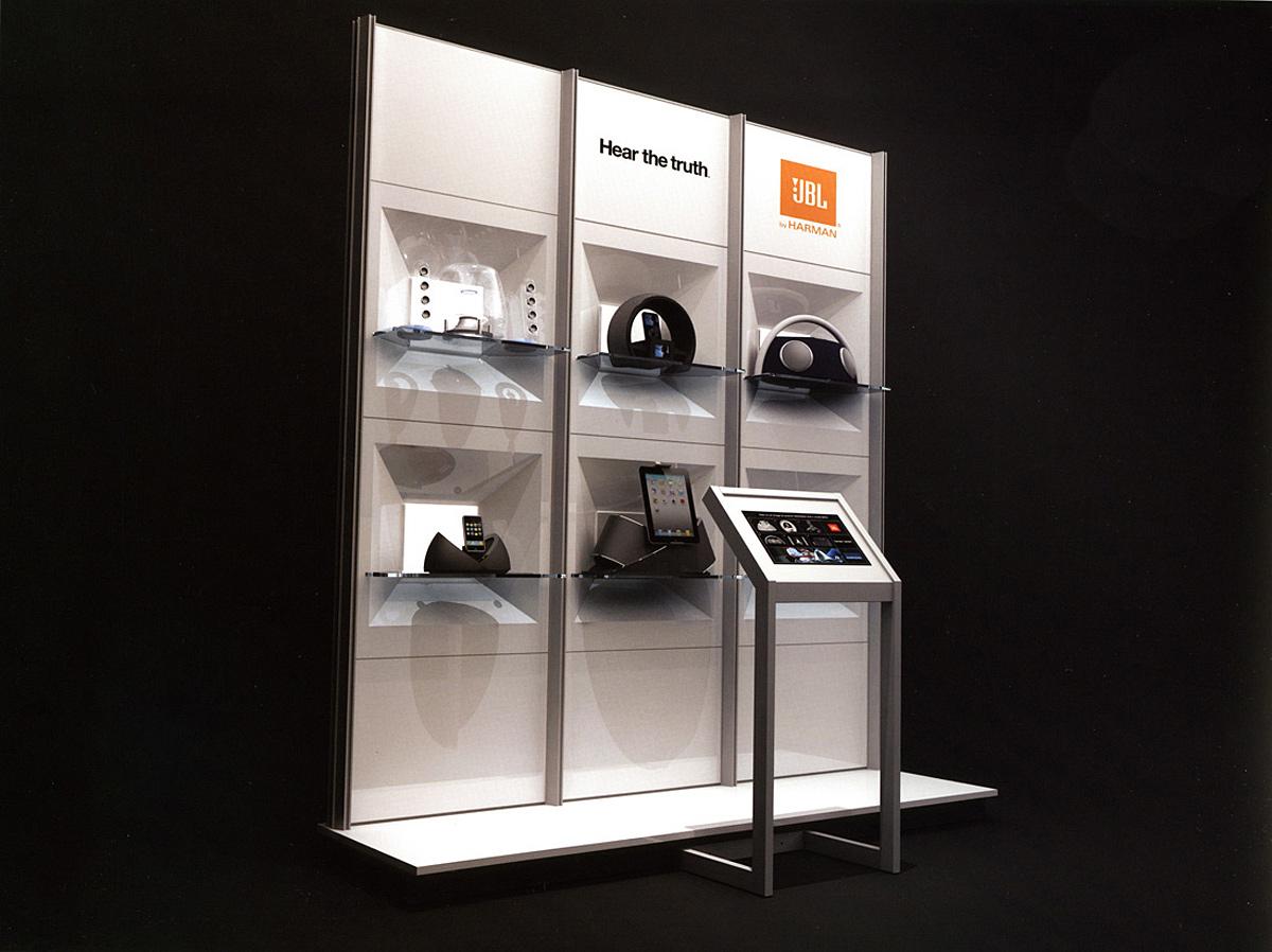 Harman Quad - Interactive Modular Merchandising System