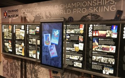 iWall Exhibit Chronicles the History of Olympic and Championship Skiing