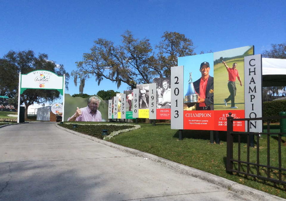 Taking the MasterCard Priceless Campaign to the Links