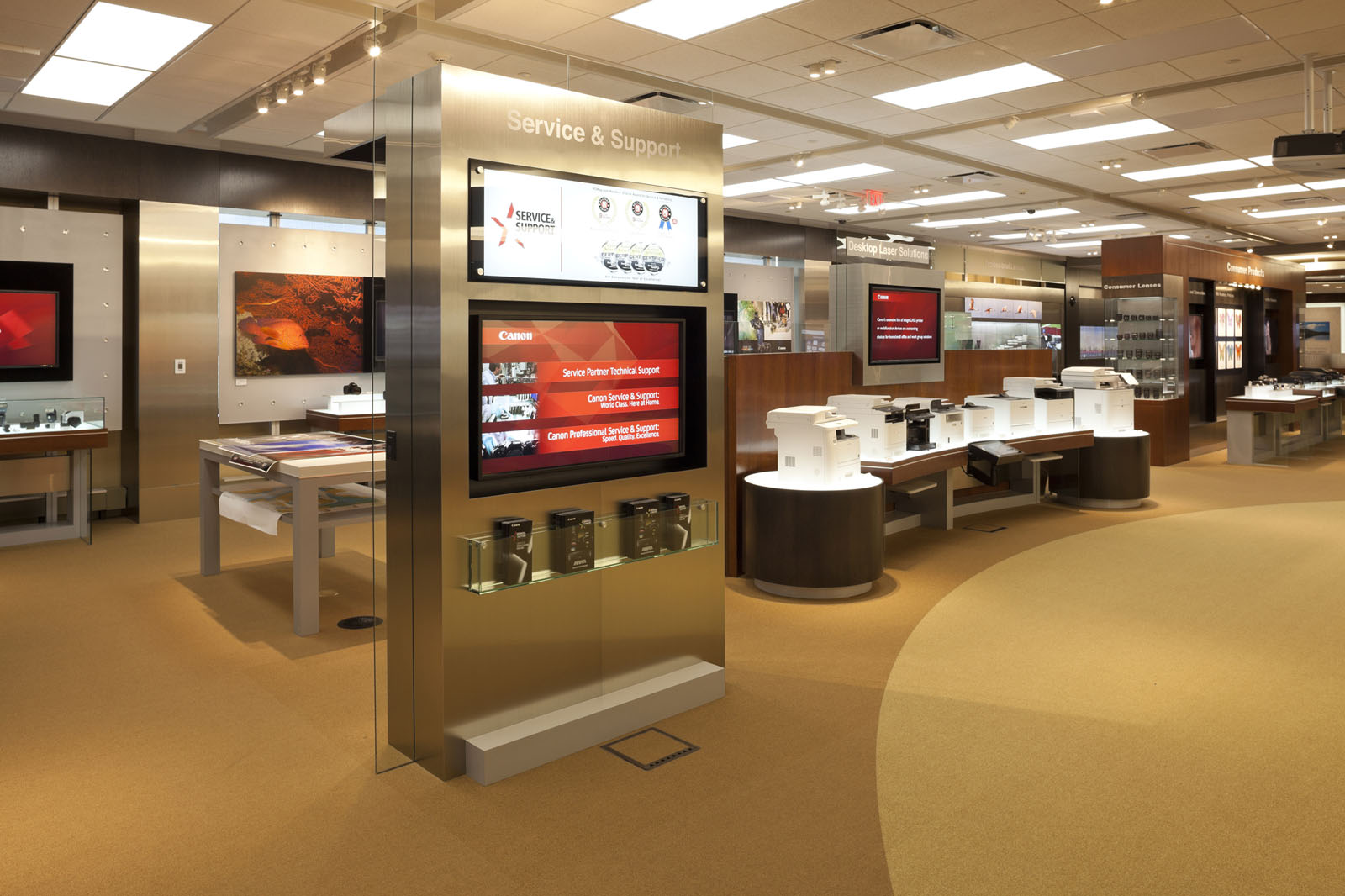 Canon World Headquarters Lobby