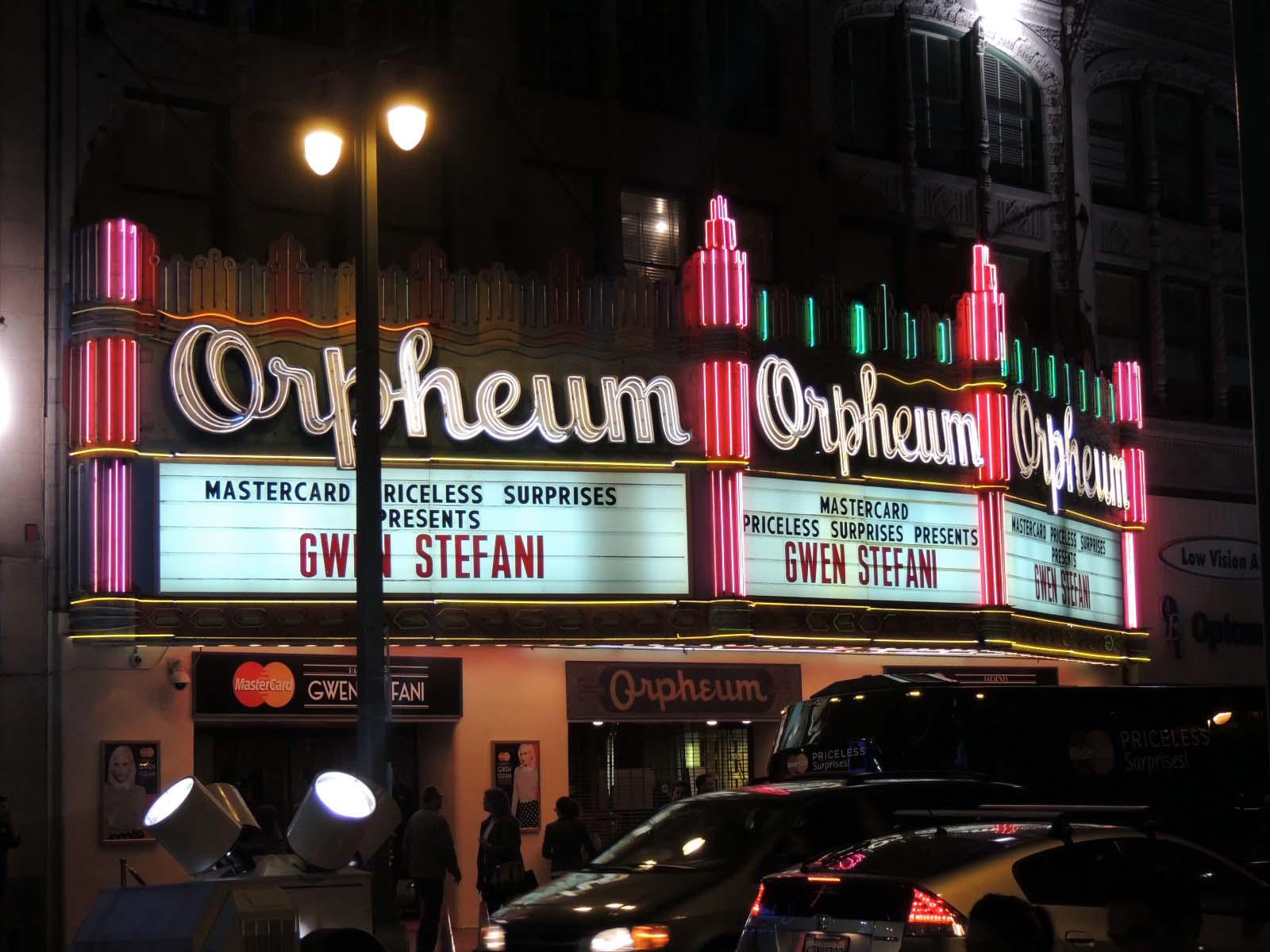 MasterCard Priceless Gwen Stefani Concert - LA