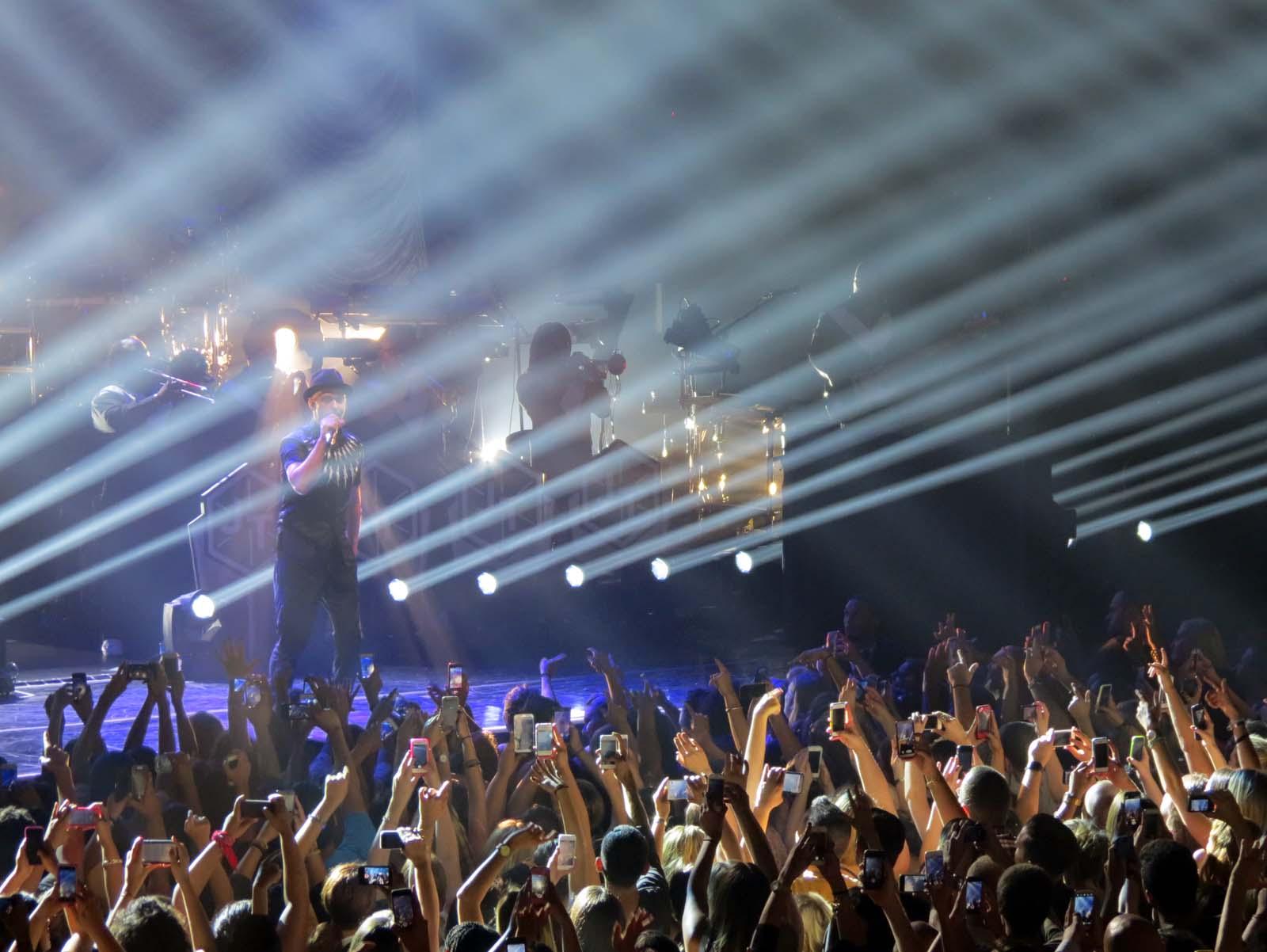 MasterCard Justin Timberlake Concert - NY