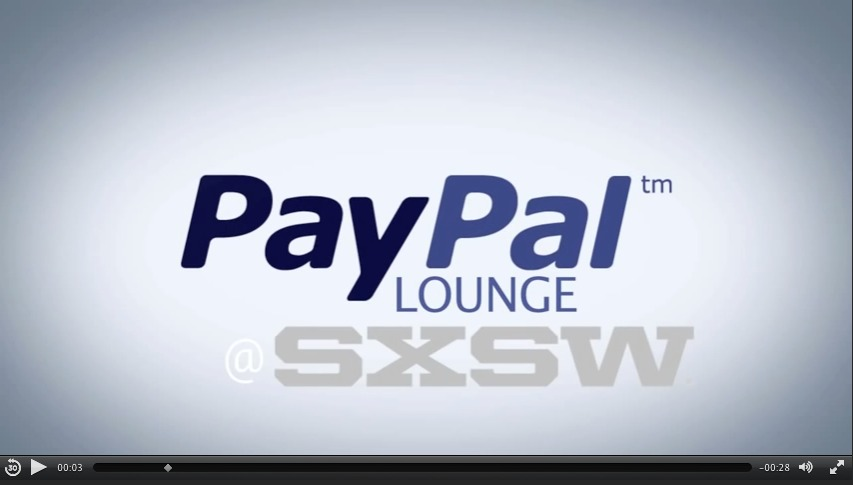 Meetings + Events: PayPal Social Media Lounge at South by Southwest (SXSW)