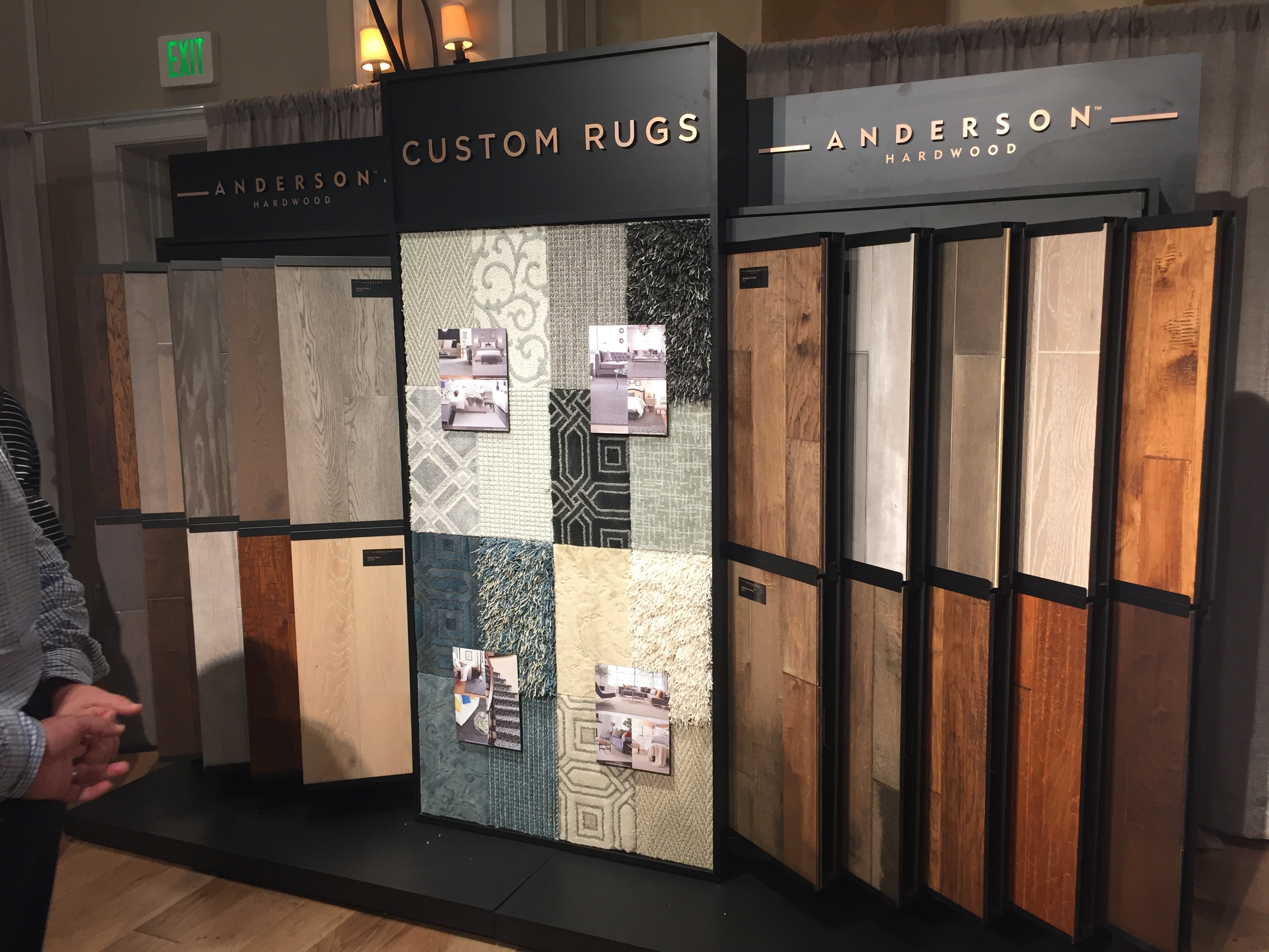 Shaw Flooring - Anderson Wood Display