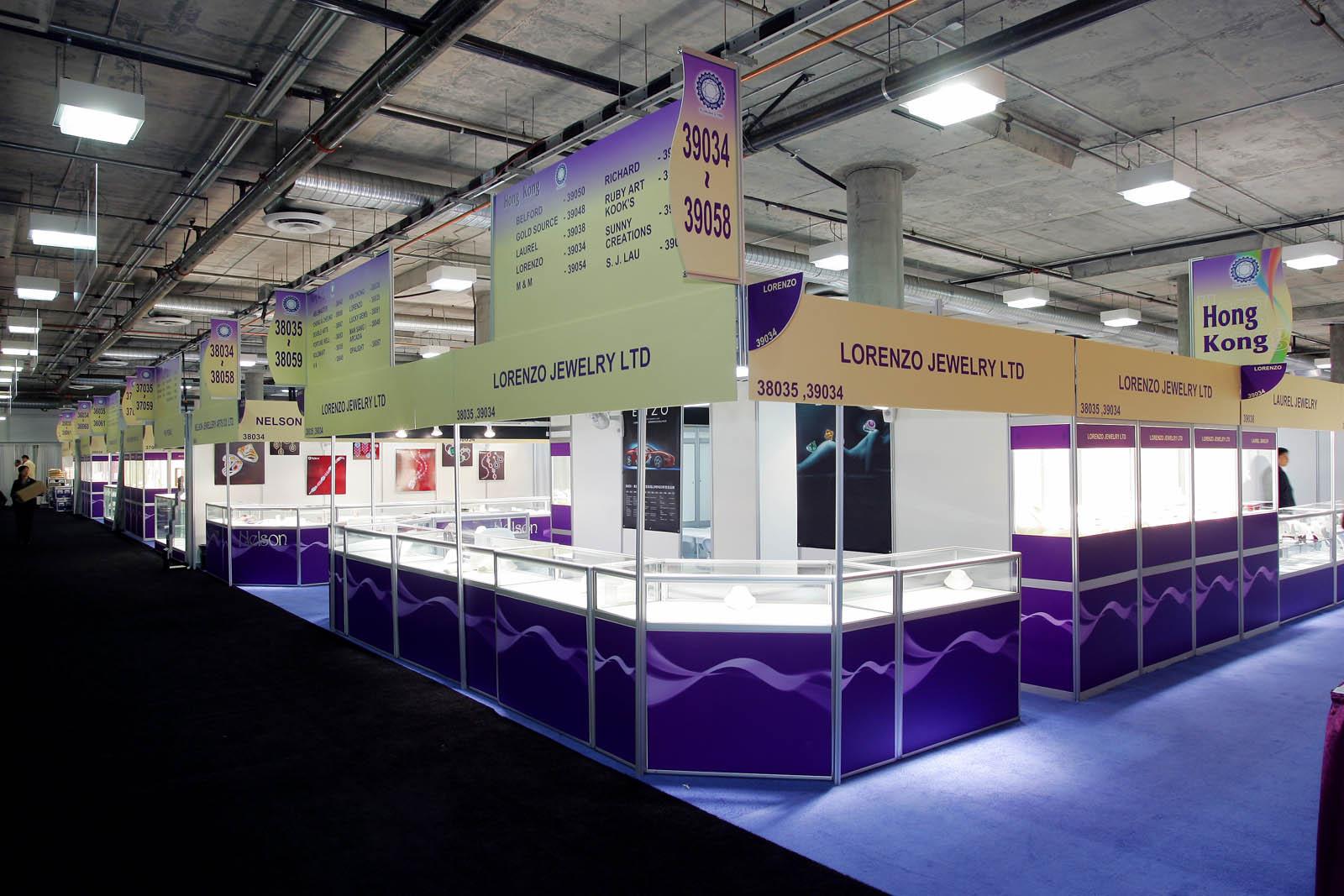 Shell Scheme Booths - JCK Show