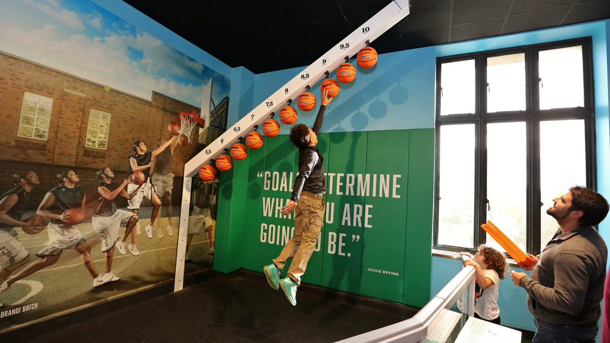 The Franklin Institute SportsZone