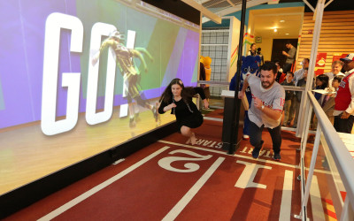 Art Guild: Interactive Experiences Illuminate the Science of Sports at The Franklin Institute