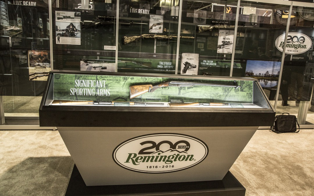 Tradeshow Exhibit Security: Protecting Remington's History