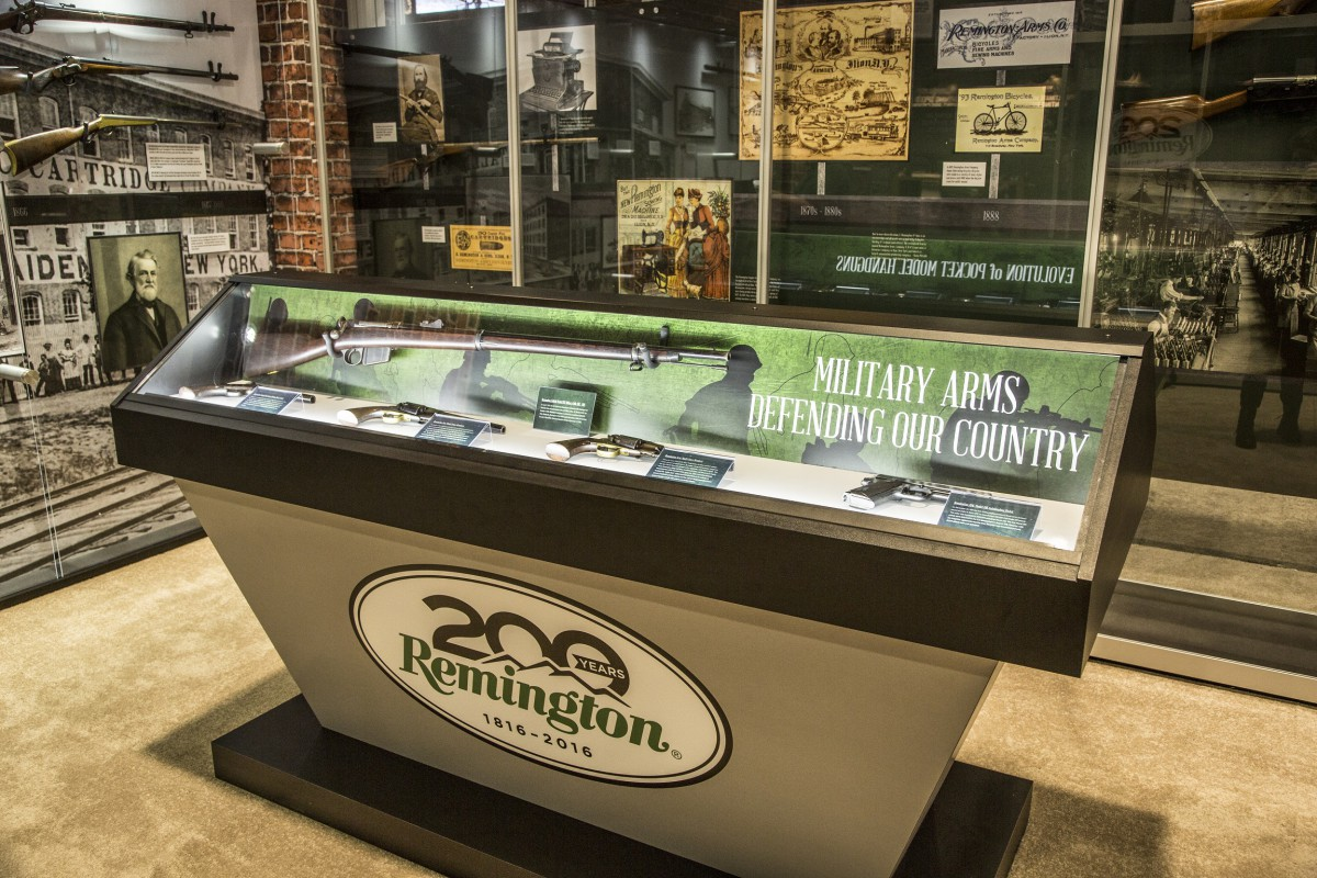 Remington 200th Anniversary Traveling Exhibit