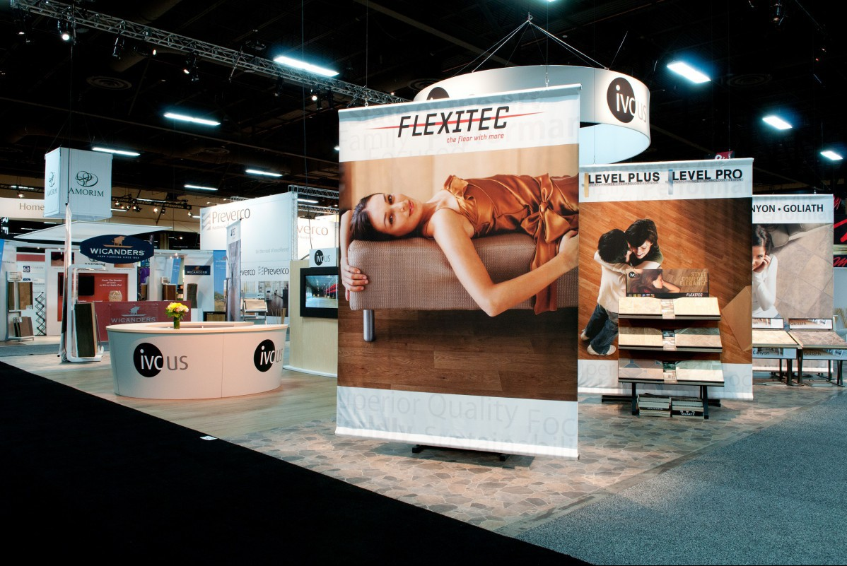 IVC Tradeshow Exhibit Surfaces 2011
