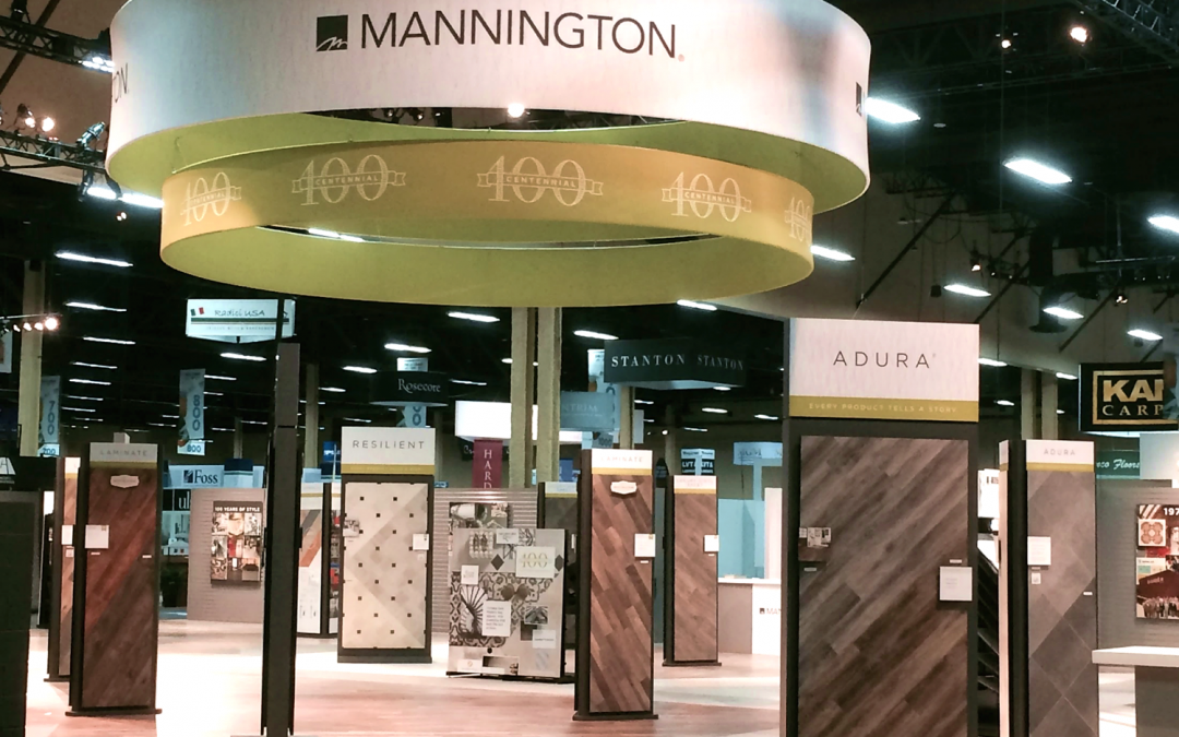 Mannington Celebrates its 100th Anniversary at Surfaces 2016