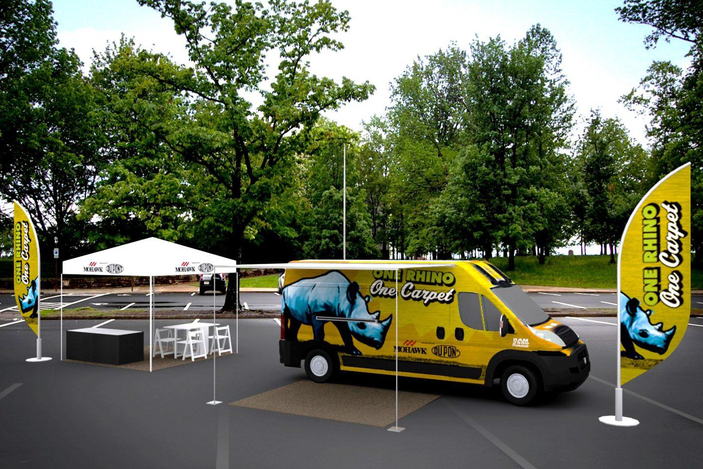 Mohawk Rhino Van