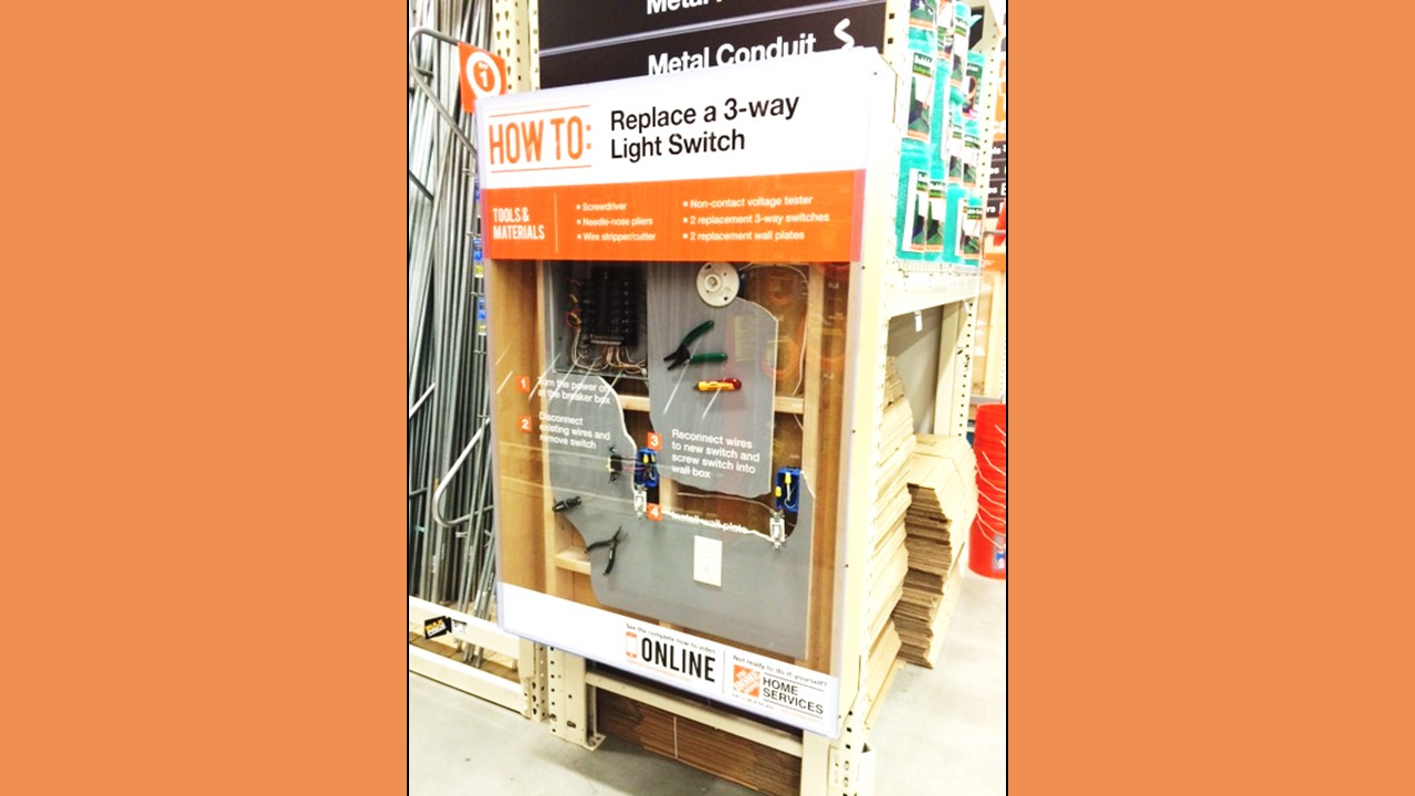 Home Depot Store of the Future Education Exhibit