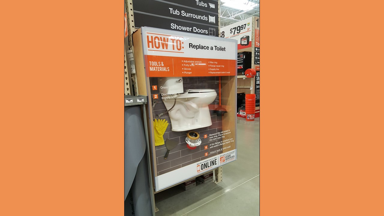Home Depot Store of the Future Educational Exhibit