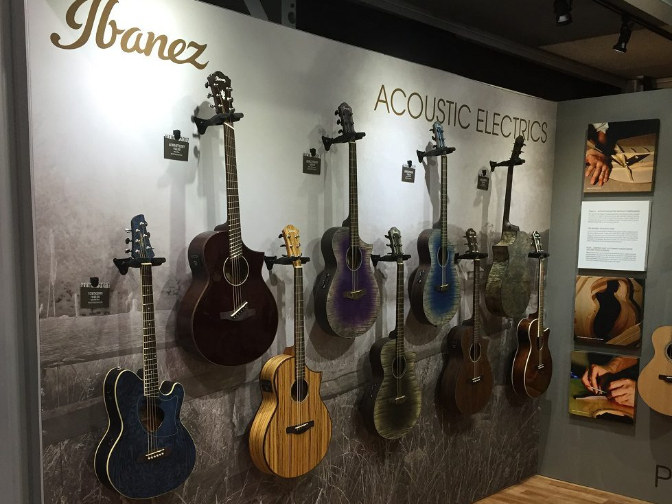 Hoshino USA Exhibit at NAMM