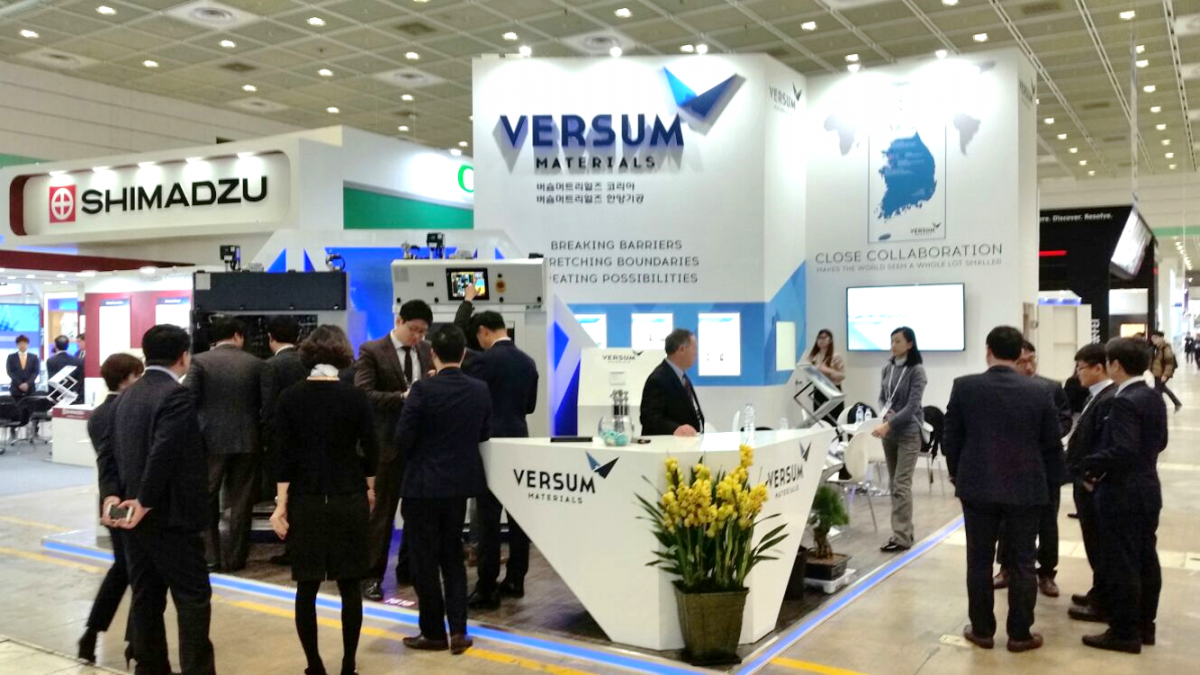Versum at SEMICON 2017 in Shanghai