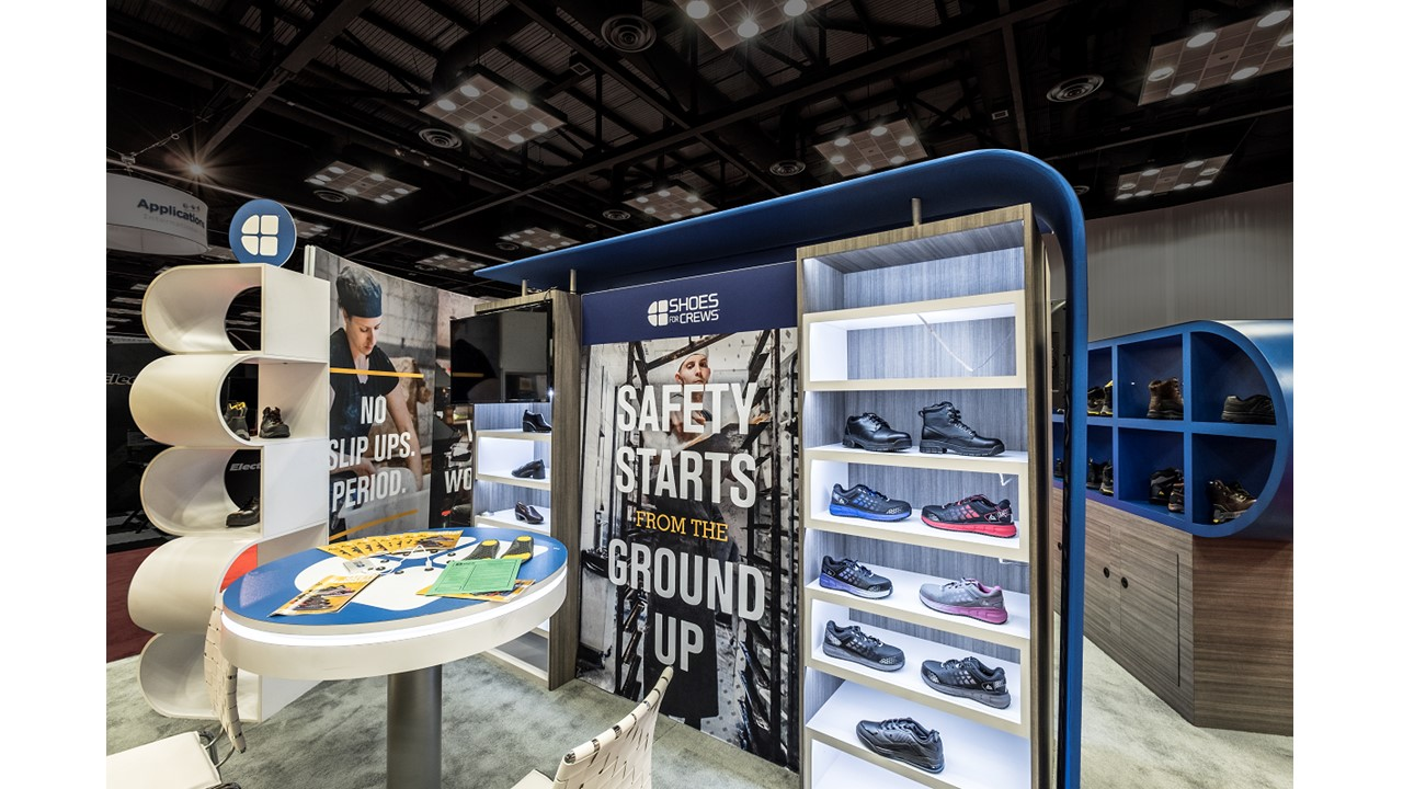 Shoes for Crews Tradeshow Exhibit