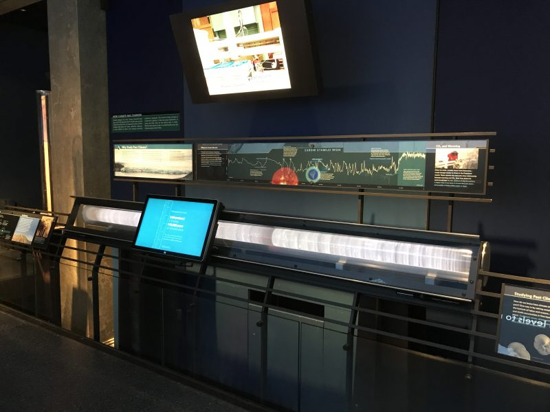 iWall Interactive in AMNH Climate Change Exhibit