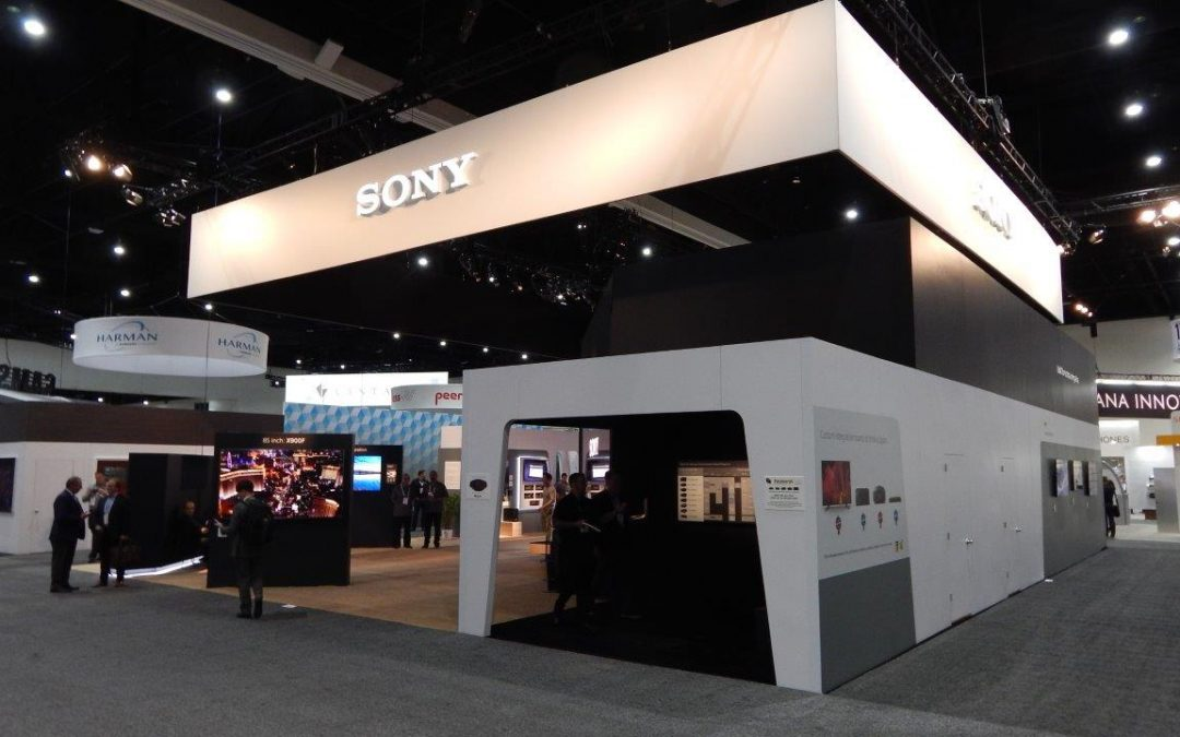 SONY Booth Takes Best In Show at CEDIA Expo 2018