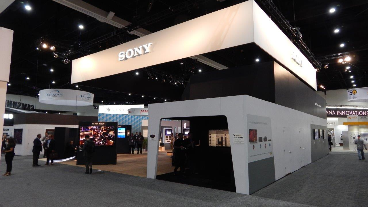 SONY Best in Show Winning Booth - CEDIA Expo 2018