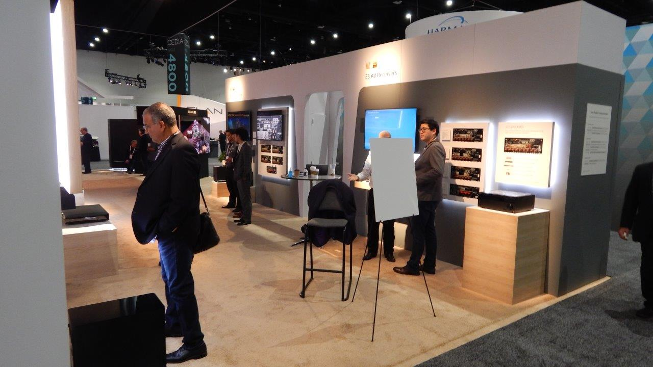 SONY Booth Interior - CEDIA Expo 2018
