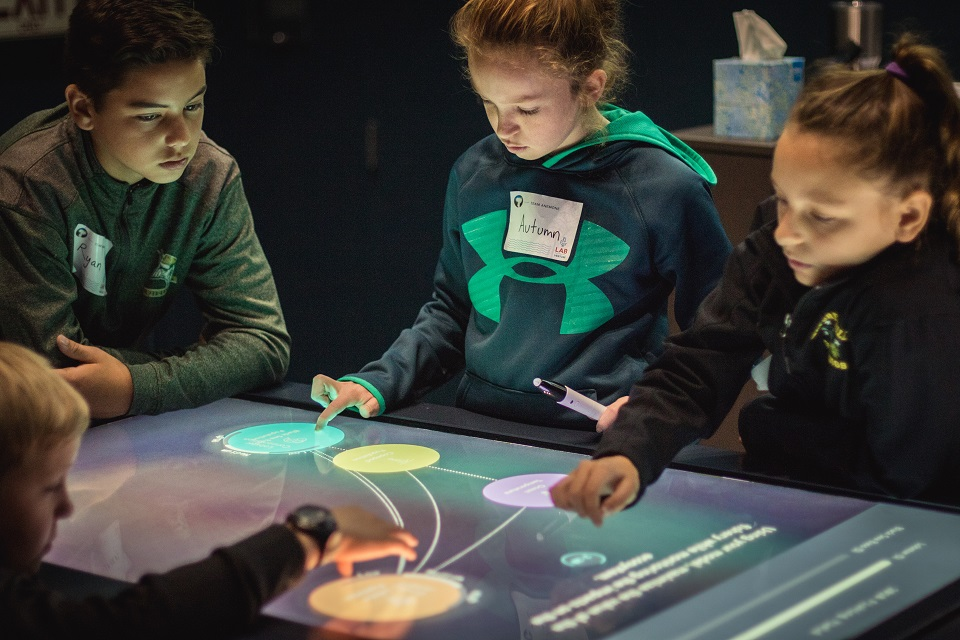 Multi-Touch Interactive Table In Action