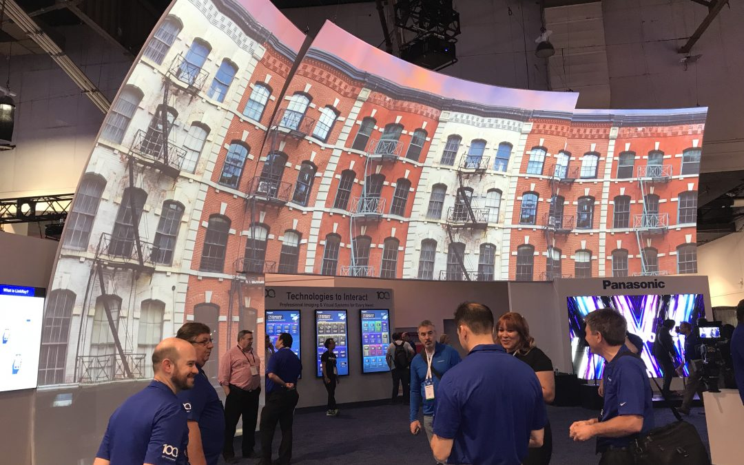 Panasonic's Live Event Technology – Demo at InfoComm 2018