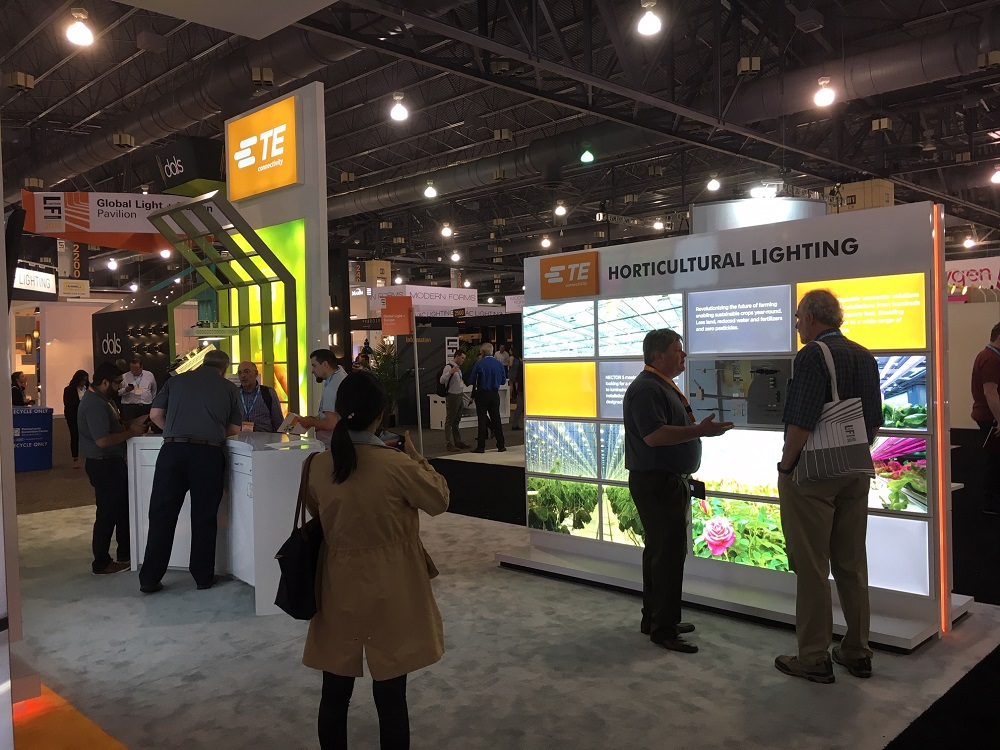 TE Connectivity Exhibit - Horticultural Lighting Area