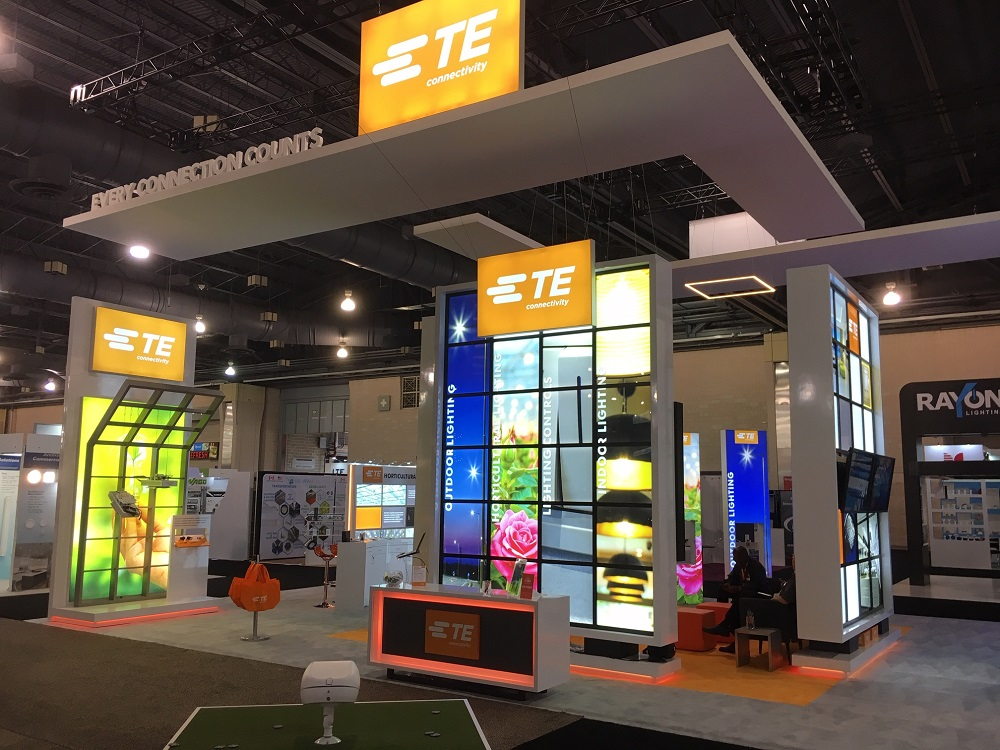 TE Connectivity Exhibit - LIGHTFAIR 2019