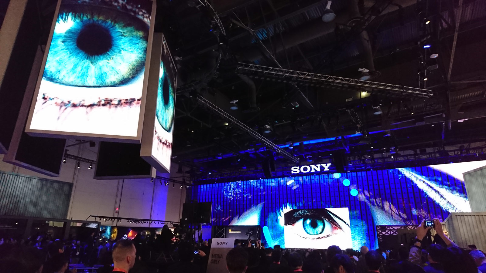 SONY at CES Photo by - Mark Woudama