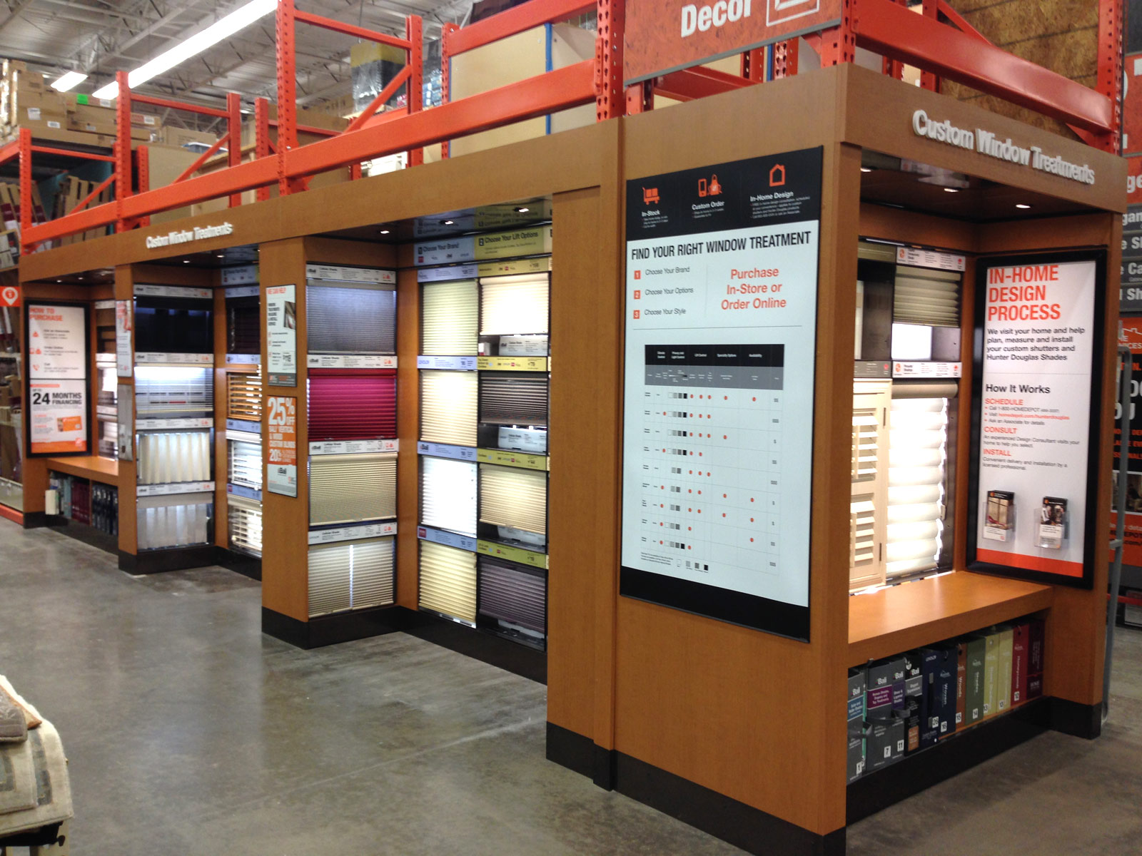 The Home Depot - Custom Window Treatments
