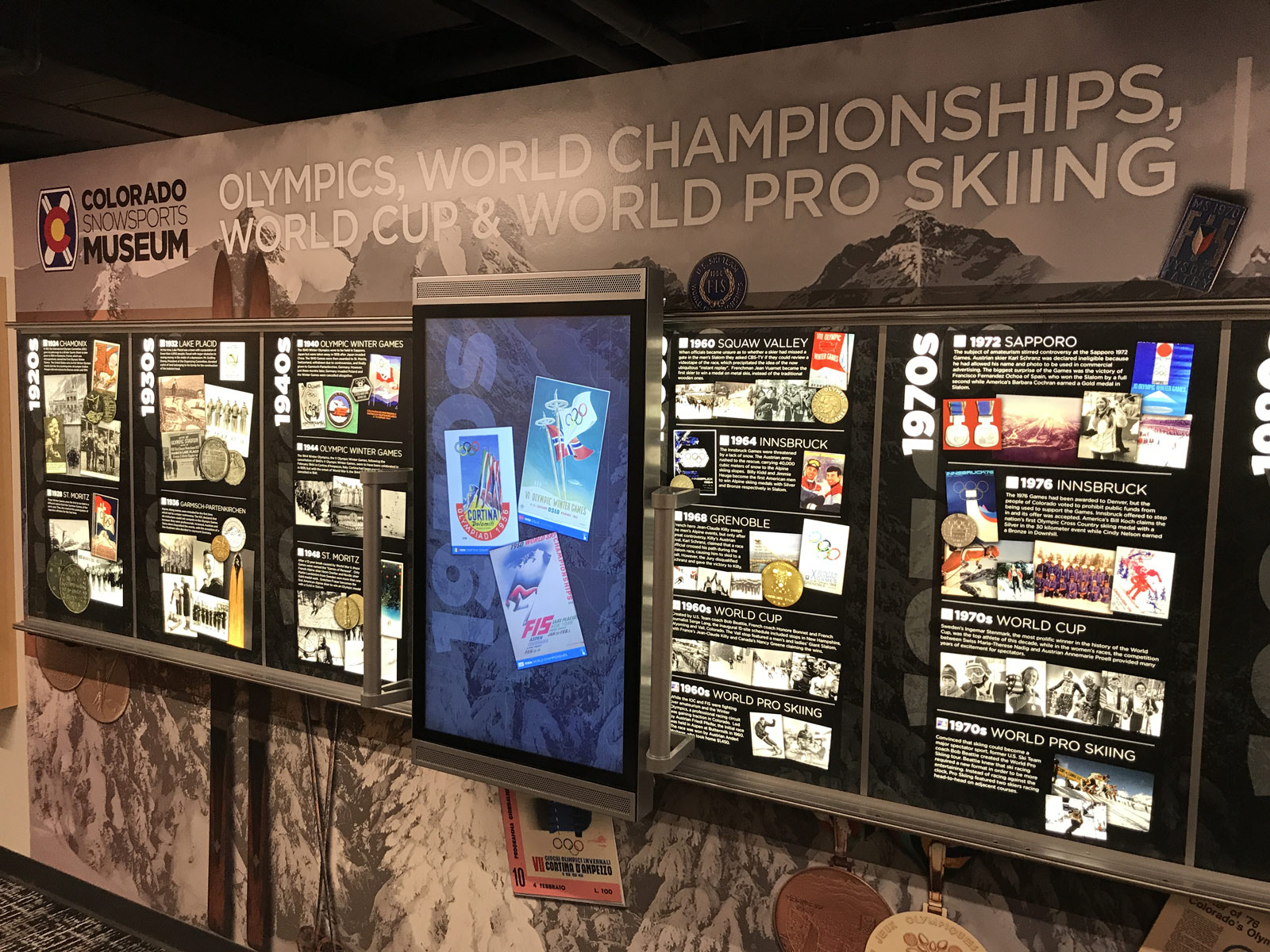 Colorado Snowsports Museum - i-Wall