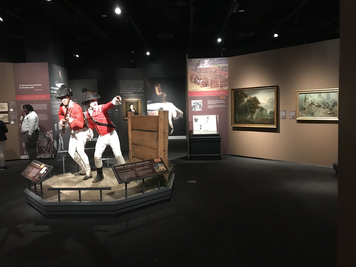 St. George and His Servant - Battle of Germantown