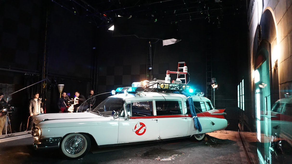 Ghostbusters Ecto 1 - Atom View Demo
