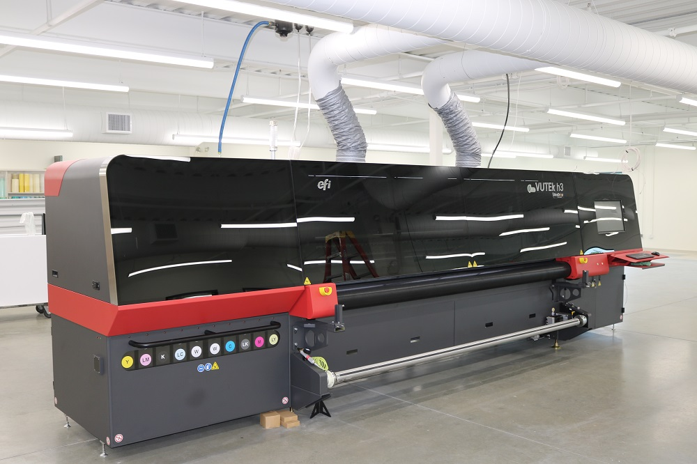 New VUTEk Super Wide Format Direct to Media Printer