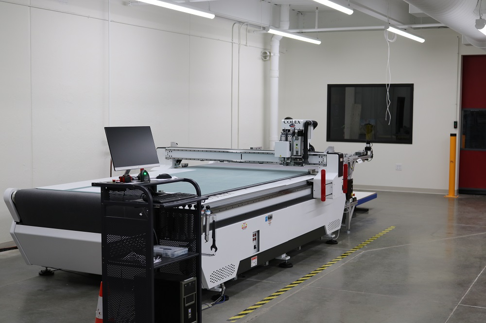 The New COLEX Sharpcut Flatbed FinisherHas a Laser