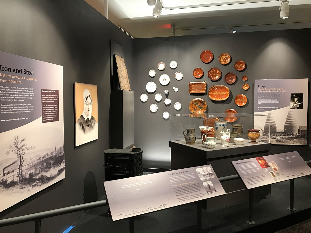 Chester County History Center Industry Exhibit