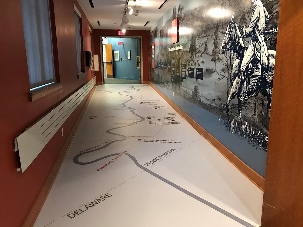 Custom Floor Installation - Chester County History Center